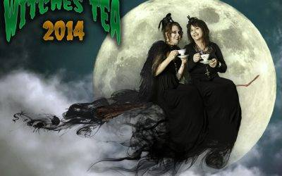 Halloween 2013: Witches Tea Photo Shoot